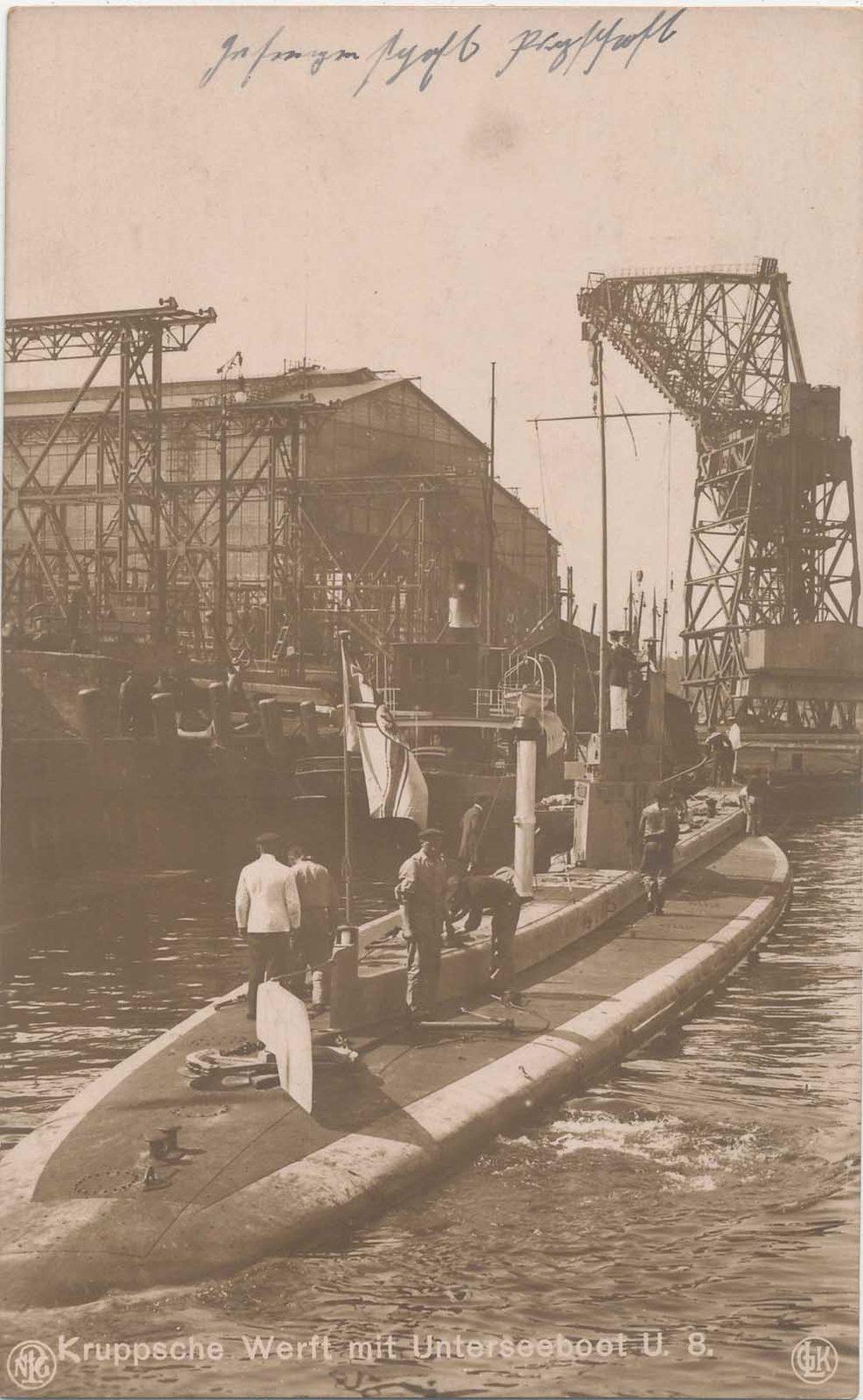 22 septembre 1914 le triplé d'Otto Weddigen  U-810