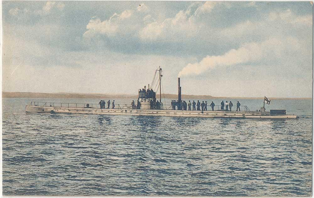 22 septembre 1914 le triplé d'Otto Weddigen  U-910
