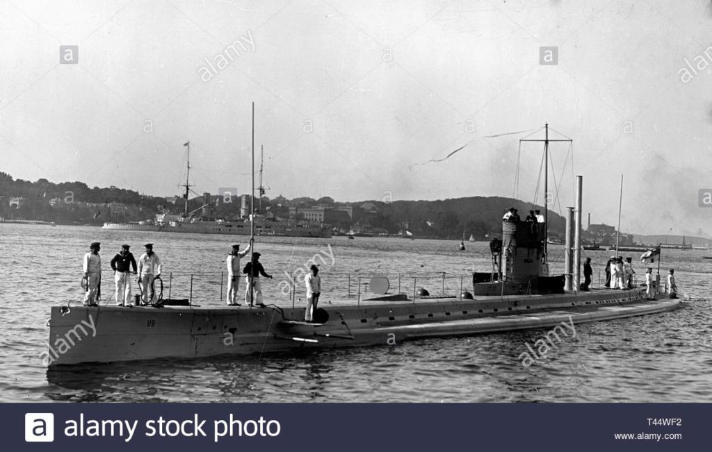 22 septembre 1914 le triplé d'Otto Weddigen  U-9_410