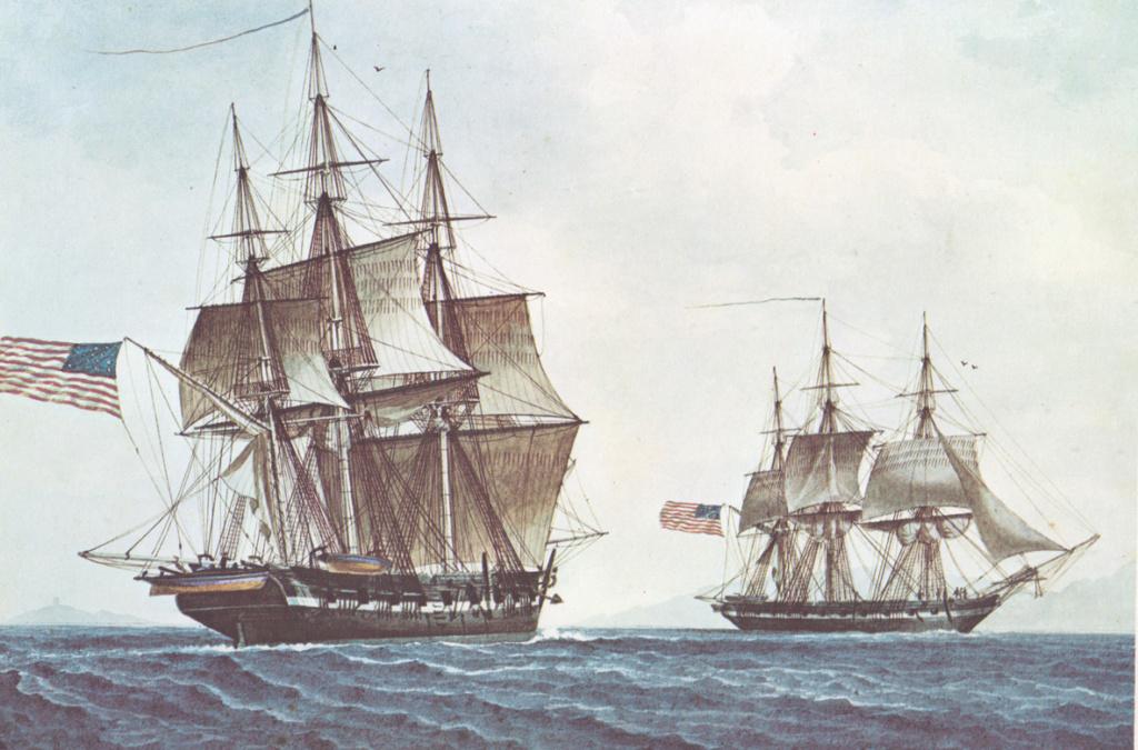 La marine en bois, à voile, à vapeur & cuirasse (1792-1873) Us_nav11