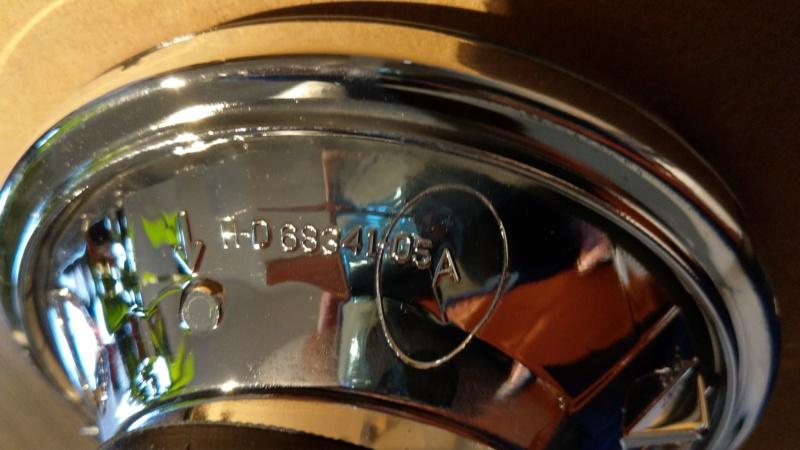 """Optique de phare H-D 5"""" 3/4 Neuf. Ref HD: 68341-05A. Imag0612"""