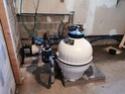 Remplacement cartouche et pompe - Piscine 50 m3 61753610