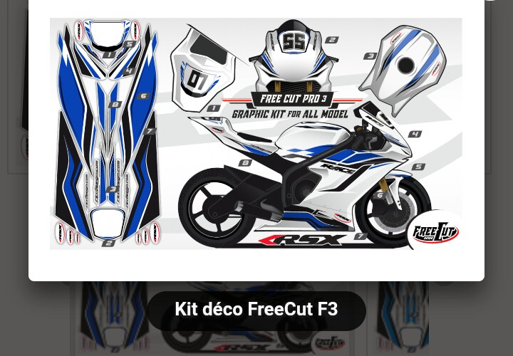 Kit déco rsx design freecut  _2018012