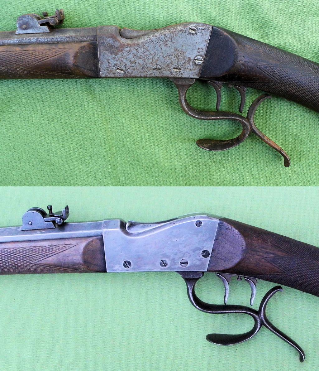 Une carabine de tir en 22lr d'origine inconnue, à restaurer. Old-ne15