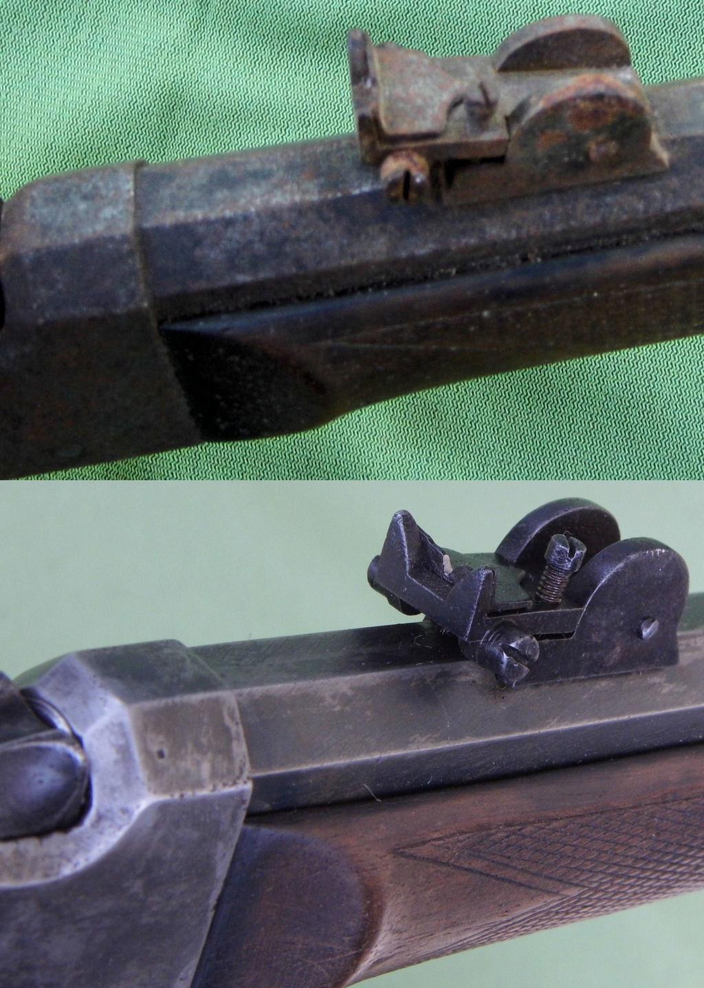 Une carabine de tir en 22lr d'origine inconnue, à restaurer. Old-ne18