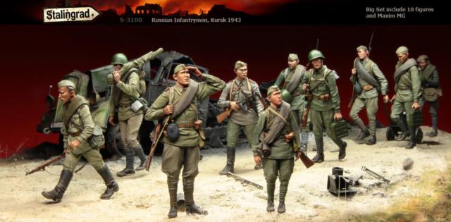 Soldats soviétiques Egpusg11