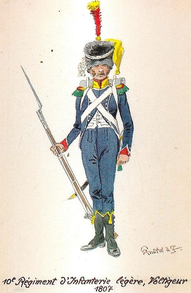 Vitrine Alain 2  Cavalerie légère   Hussard du 14e régiment 1814 MM54mm - Page 11 Napole11