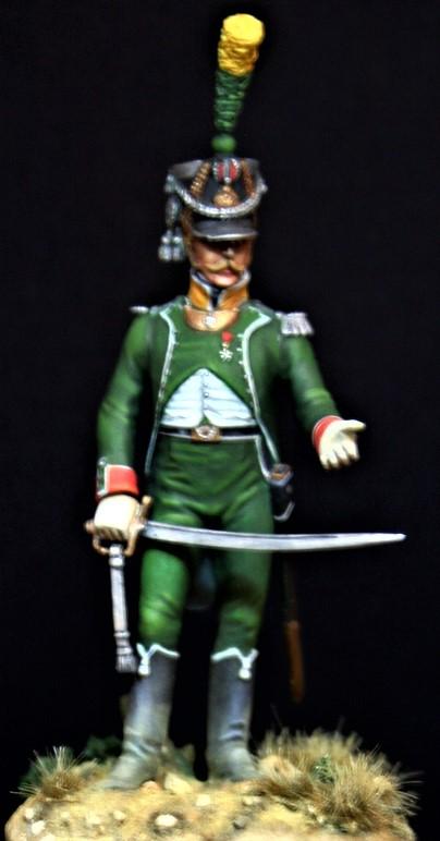 Officier de voltigeur d infanterie légère - terminé Offici11