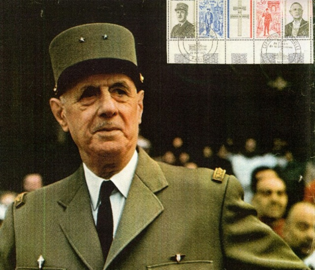 De Gaulle terminé Poste-10