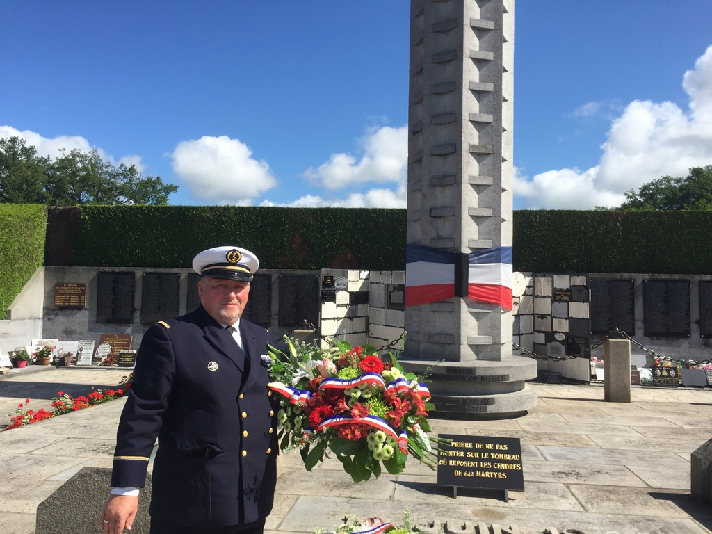 74ème cérémonie de commémoration du massacre d'Oradour-sur-Glane Img_3310