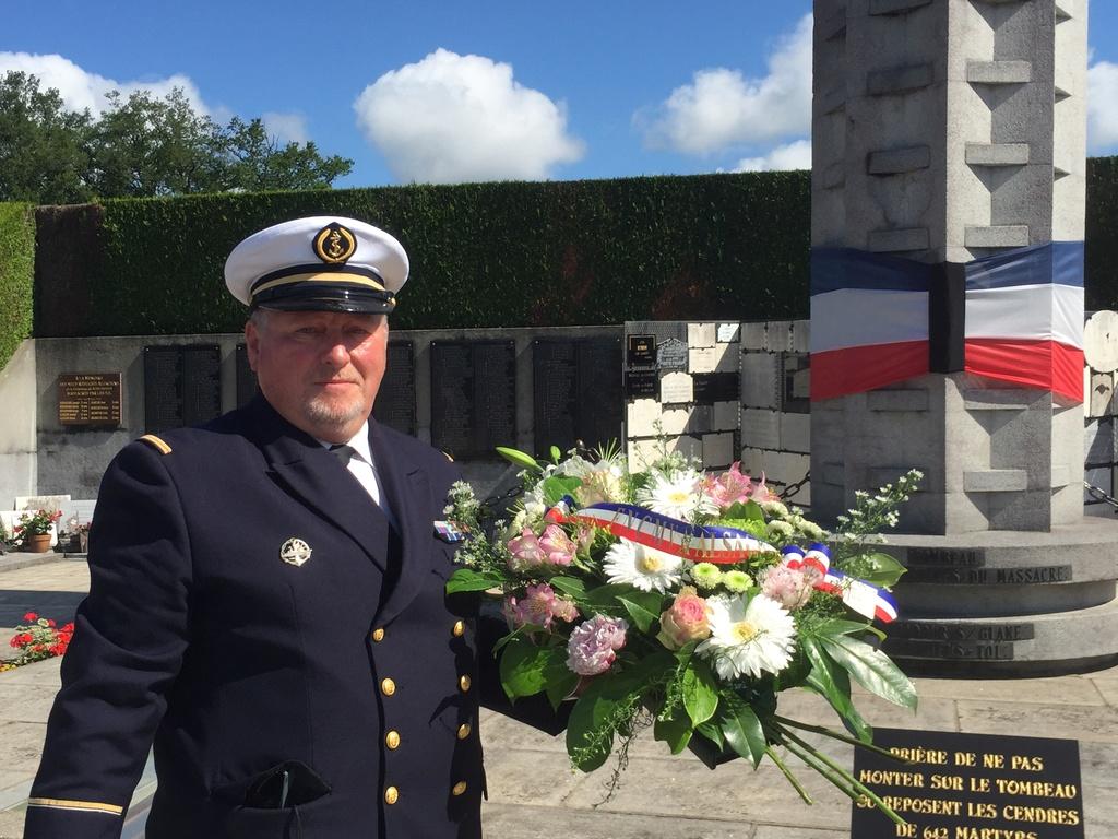 74ème cérémonie de commémoration du massacre d'Oradour-sur-Glane Img_3410