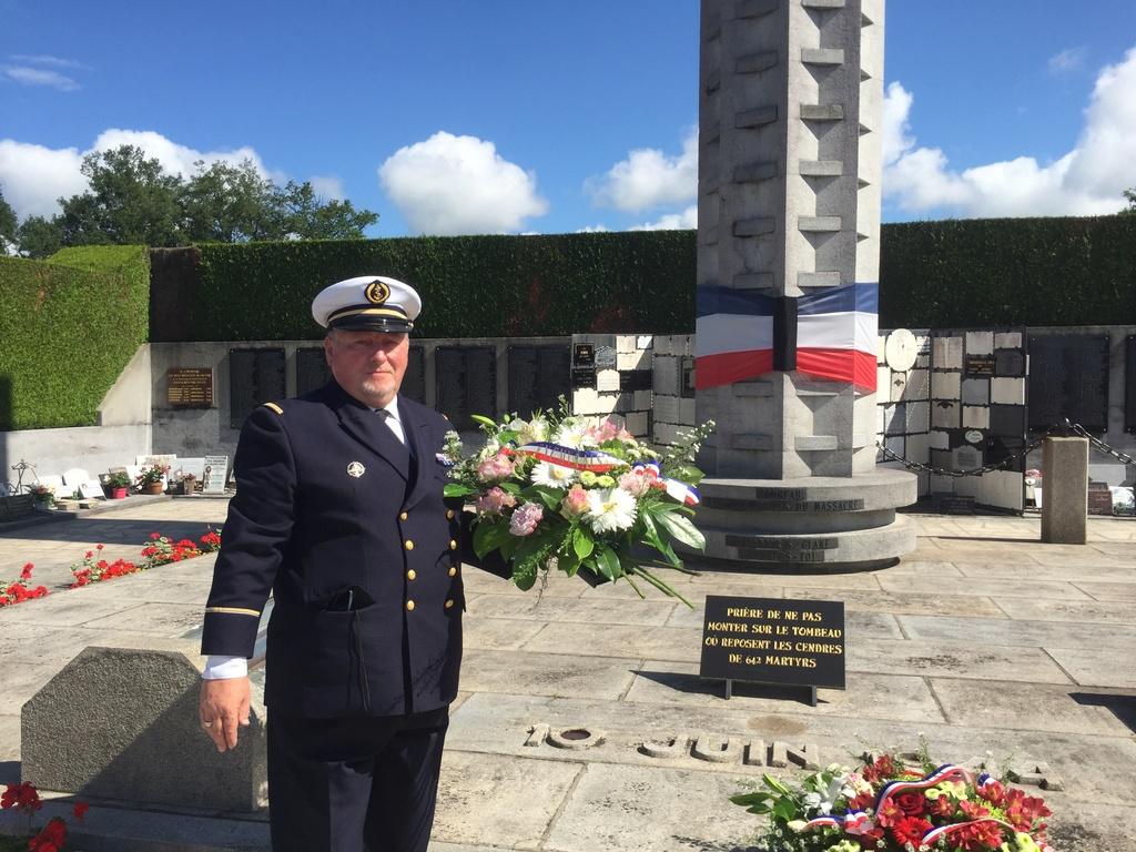 74ème cérémonie de commémoration du massacre d'Oradour-sur-Glane Img_3411