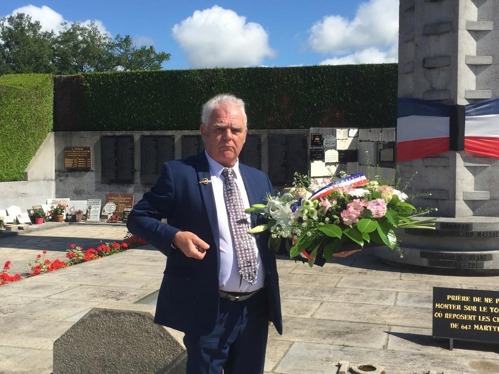 74ème cérémonie de commémoration du massacre d'Oradour-sur-Glane Img_3412