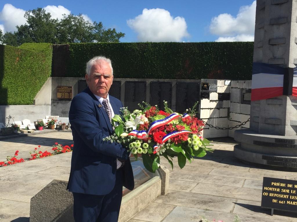 74ème cérémonie de commémoration du massacre d'Oradour-sur-Glane Img_3413