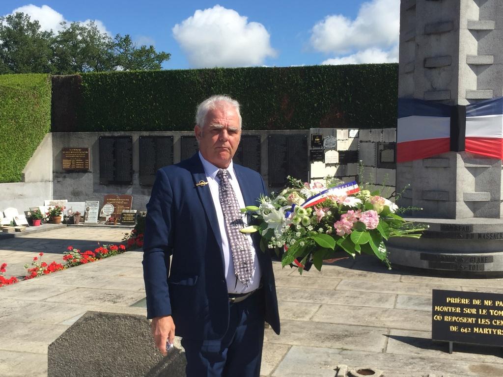 74ème cérémonie de commémoration du massacre d'Oradour-sur-Glane Img_3414