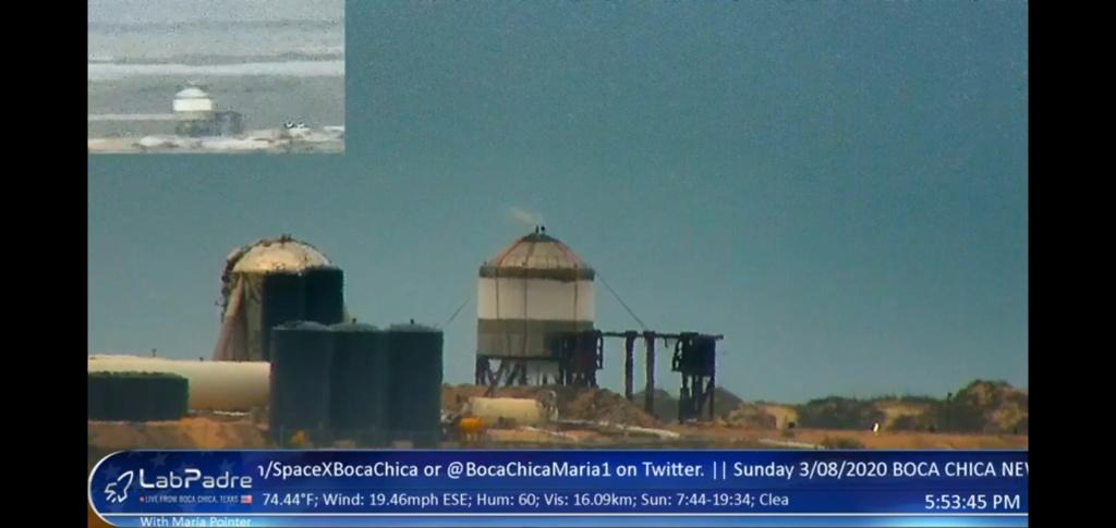 Starship SN2 (Boca Chica) - Page 5 Screen16