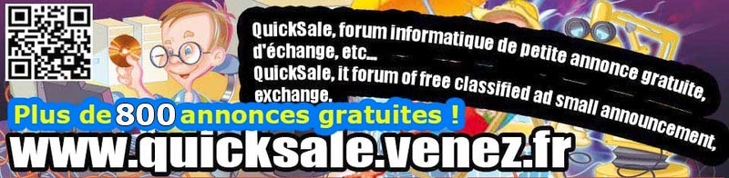 QuickSale, forum informatique