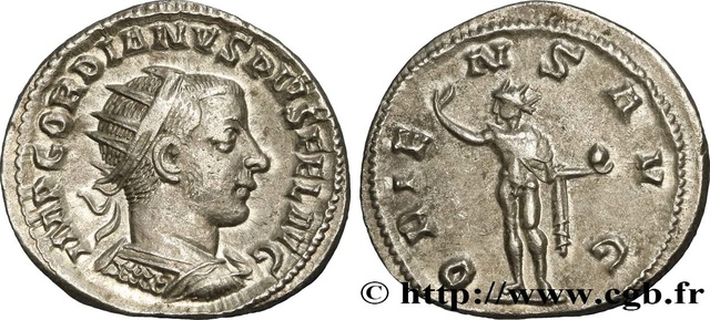Antoninien de Gordien fauté Brm_4110