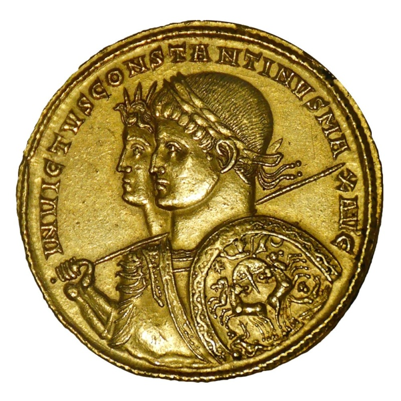 Nummus de Constantin II Consta10