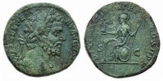 Septimius Severus Sestertius - barbaric imitation Ric_0710
