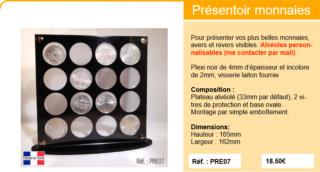 Présentation sur plaque de verre X16_so10