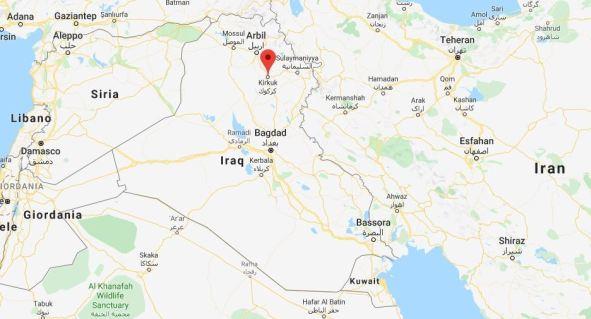 Attentato esplosivo contro militari italiani in Iraq 591x3110