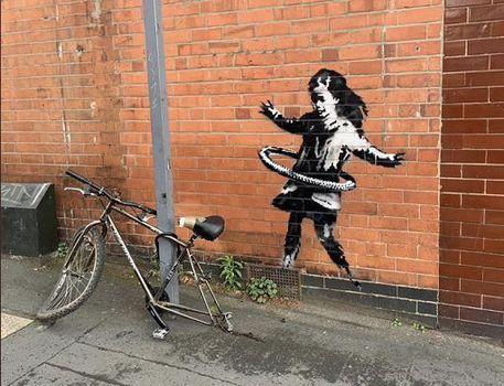Banksy: 'Mia la ragazzina con hula hoop' 88ebd510