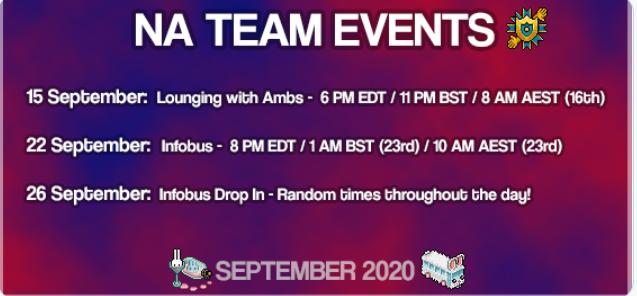 [COM] Appuntamenti AMB di settembre 2020 Ambcom21