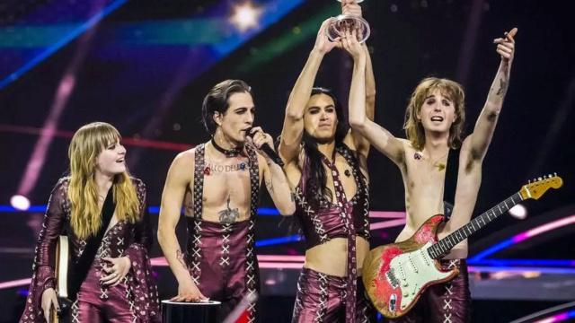 Eurovision 2021, vincono i Måneskin Ansa_210