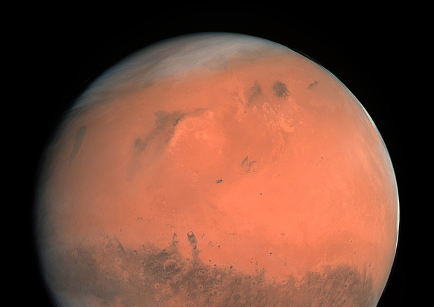 Marte, sotto i ghiacci del Polo Sud una rete di laghi salati Bafc1d10