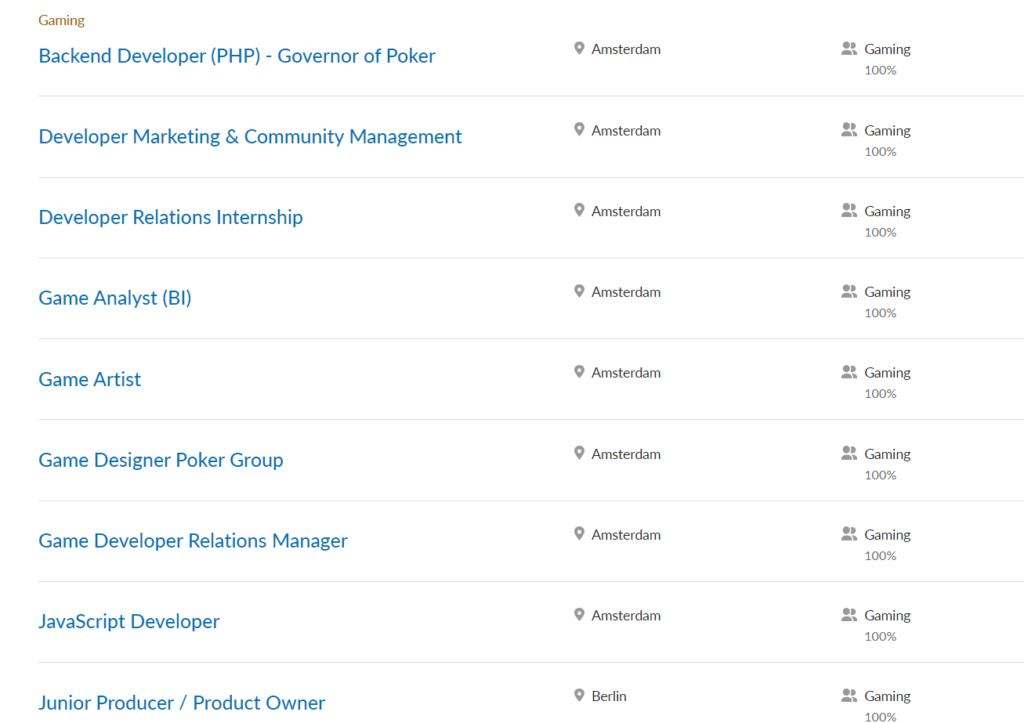 Azerion e Sulake - gaming job su Linkedin Immagi22