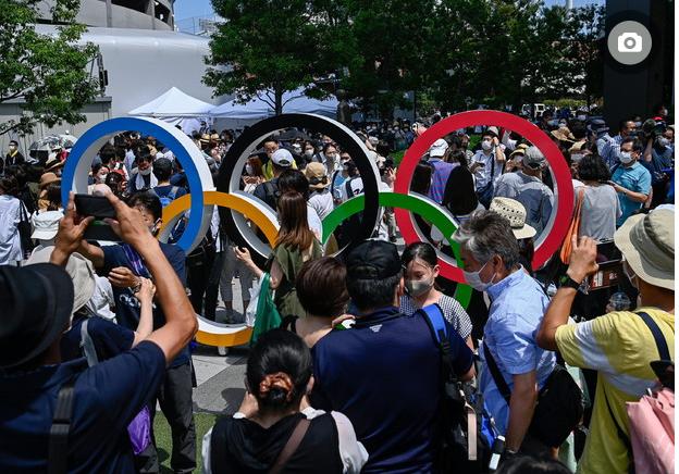 Tokyo 2020, è il giorno della cerimonia, via libera alla fascia arcoba Immagi26