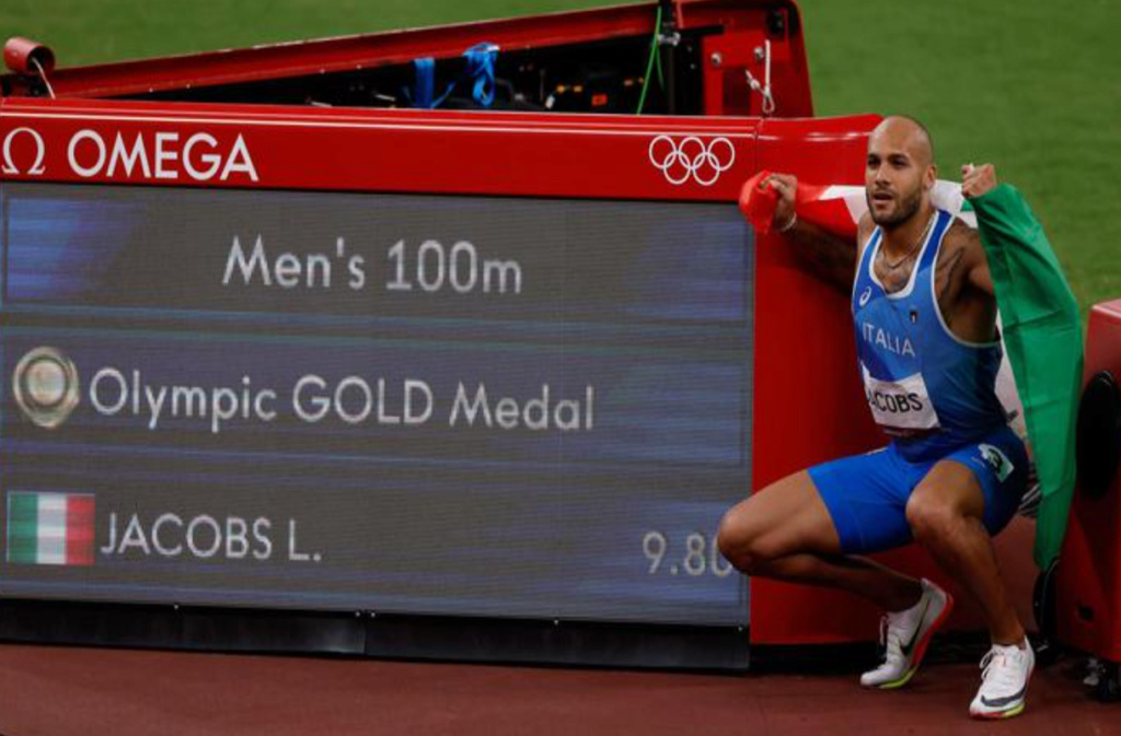 L'atletica azzurra nella storia, Jacobs e Tamberi sono d'oro Oro110
