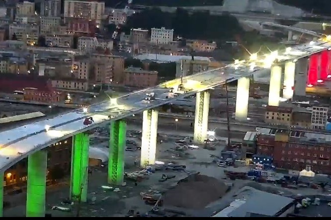 Inaugurazione del ponte di Genova il 3 agosto 2020 Ponte-10