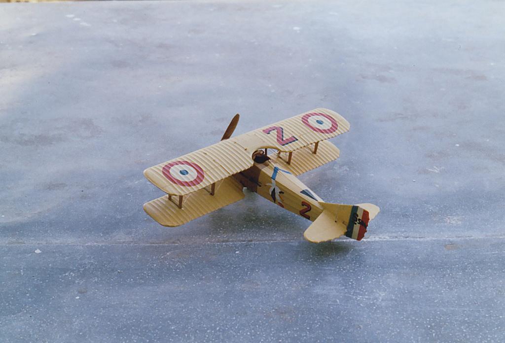 """[Airfix] SPAD VII """"Vieux Charles"""" 1/72e Airfix13"""