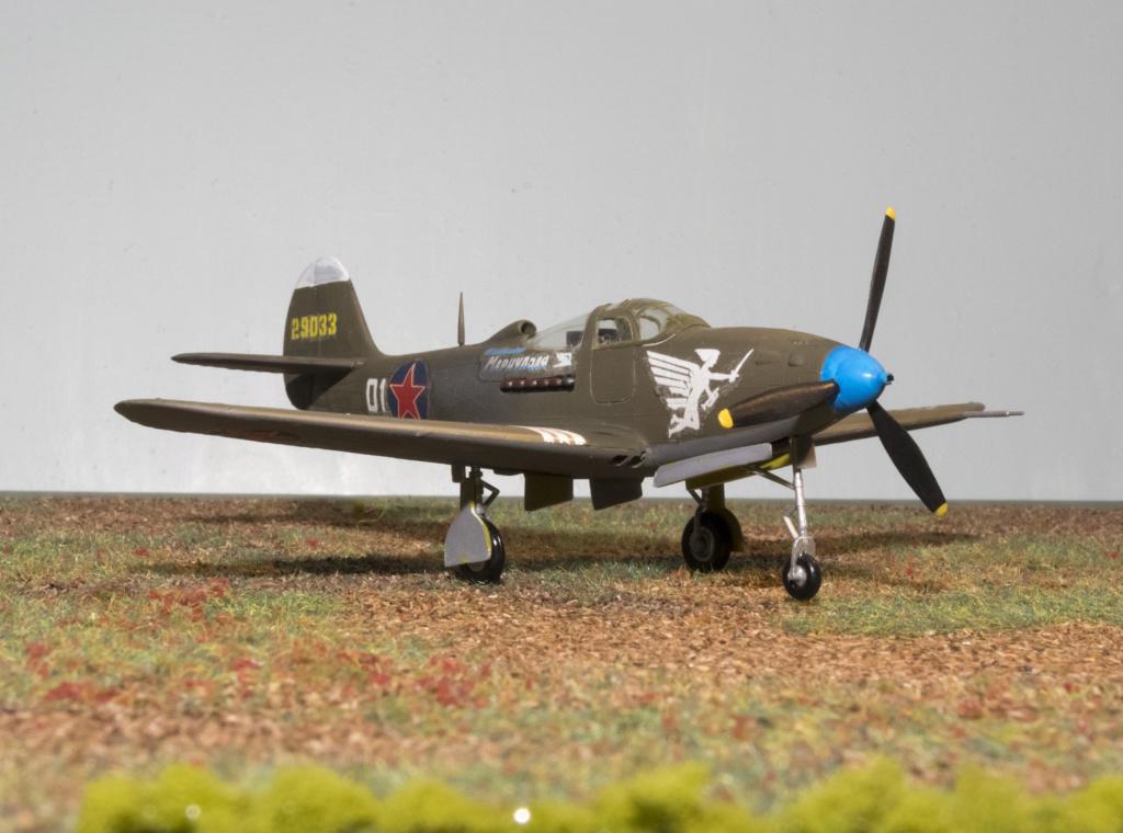 Bell P-39N AIRACOBRA Réf 154 Heller31