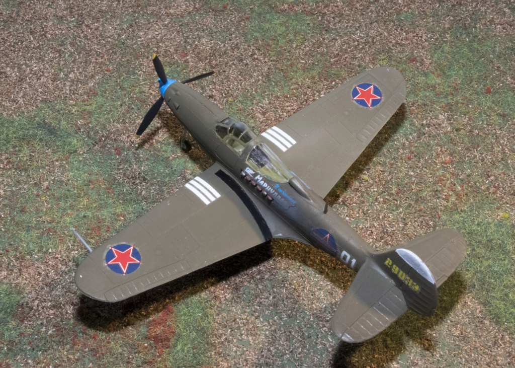 Bell P-39N AIRACOBRA Réf 154 Heller33