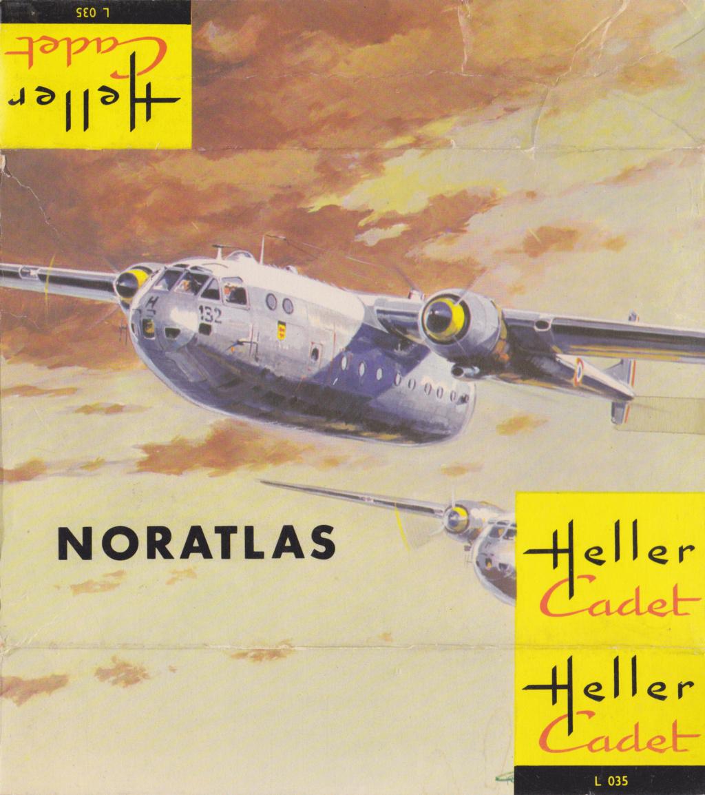 NORD 2501 NORATLAS 1/170ème Réf CADET 035 Heller46