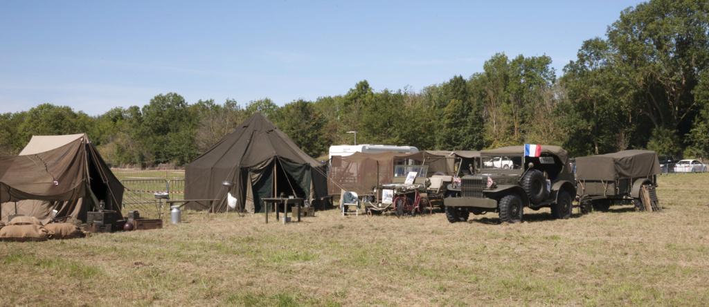 30 août au 1er septembre: Camp militaire commémoratif de la libération au Tréport L1010110