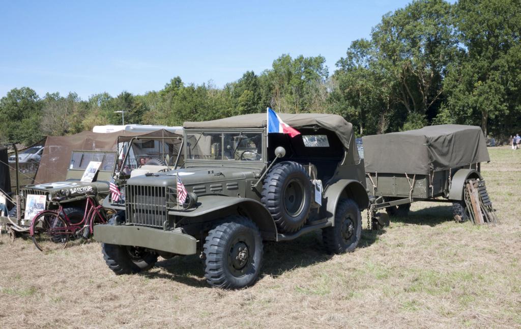30 août au 1er septembre: Camp militaire commémoratif de la libération au Tréport L1010111