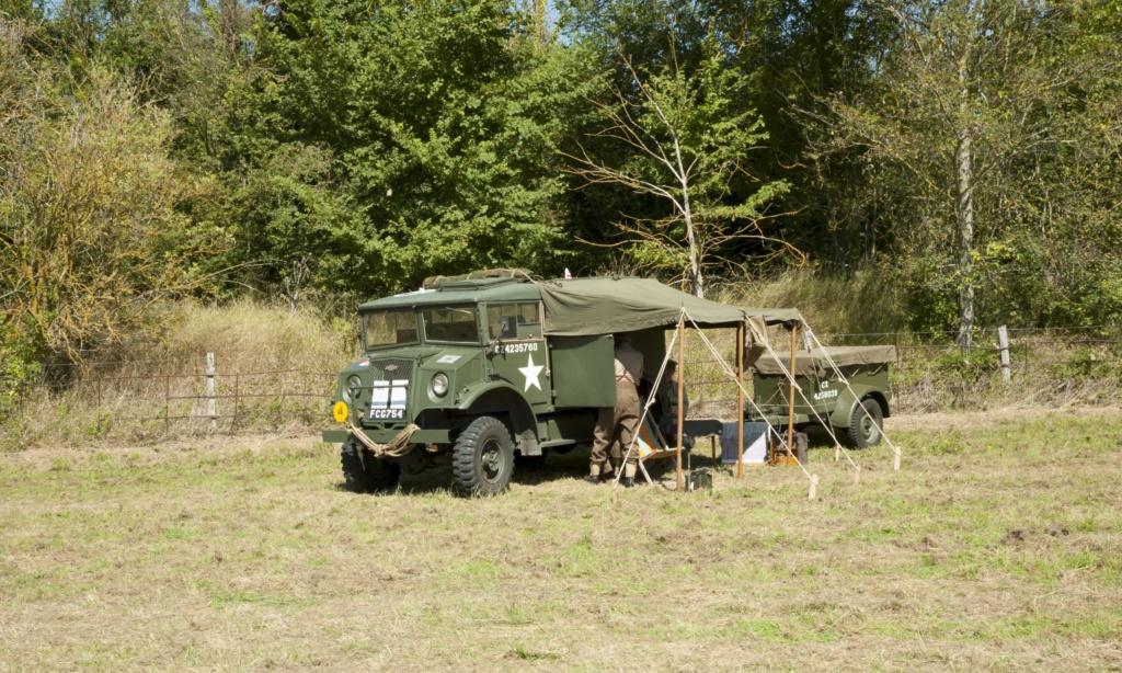 30 août au 1er septembre: Camp militaire commémoratif de la libération au Tréport L1010112