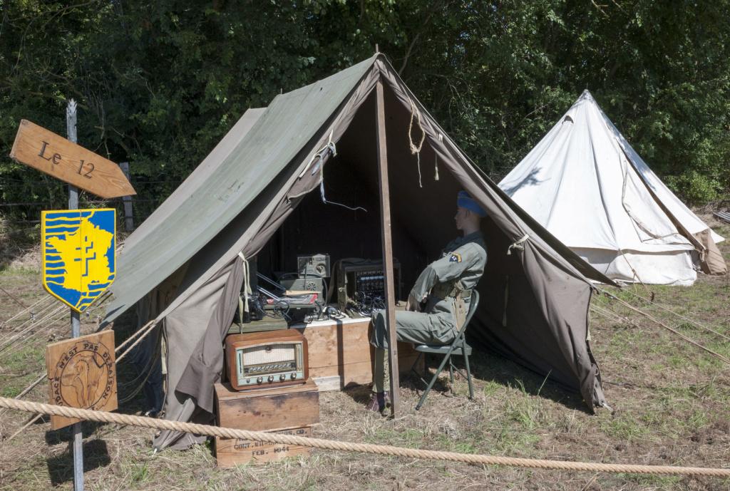 30 août au 1er septembre: Camp militaire commémoratif de la libération au Tréport L1010114