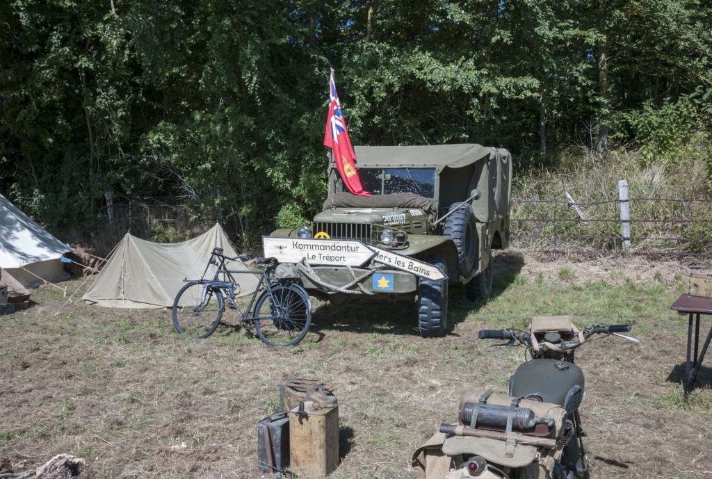 30 août au 1er septembre: Camp militaire commémoratif de la libération au Tréport L1010116