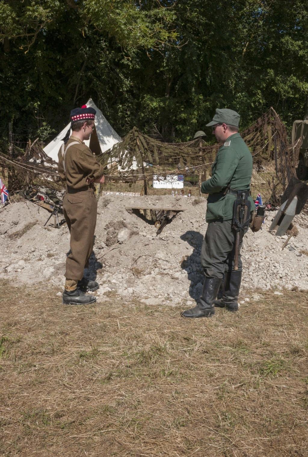 30 août au 1er septembre: Camp militaire commémoratif de la libération au Tréport L1010118