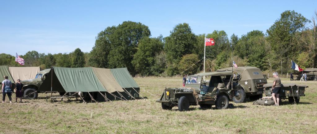 30 août au 1er septembre: Camp militaire commémoratif de la libération au Tréport L1010126