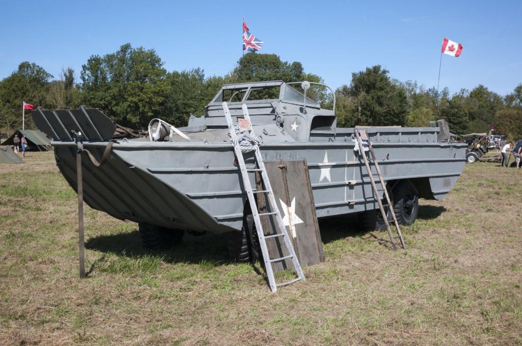 30 août au 1er septembre: Camp militaire commémoratif de la libération au Tréport L1010130