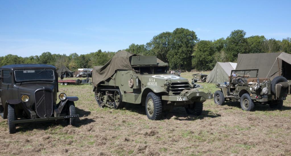 30 août au 1er septembre: Camp militaire commémoratif de la libération au Tréport L1010132