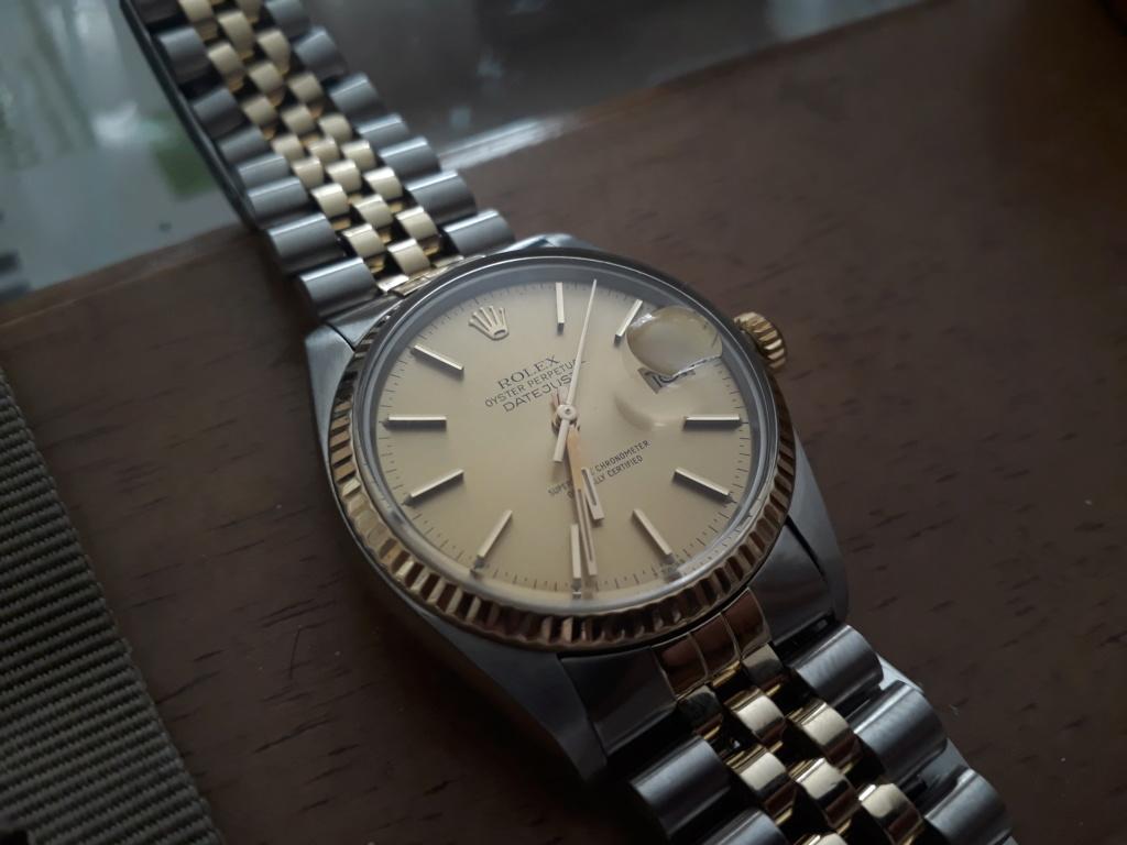 Vends - [Baisse de prix][Vends] Rolex Datejust (ref 16013) 20170612
