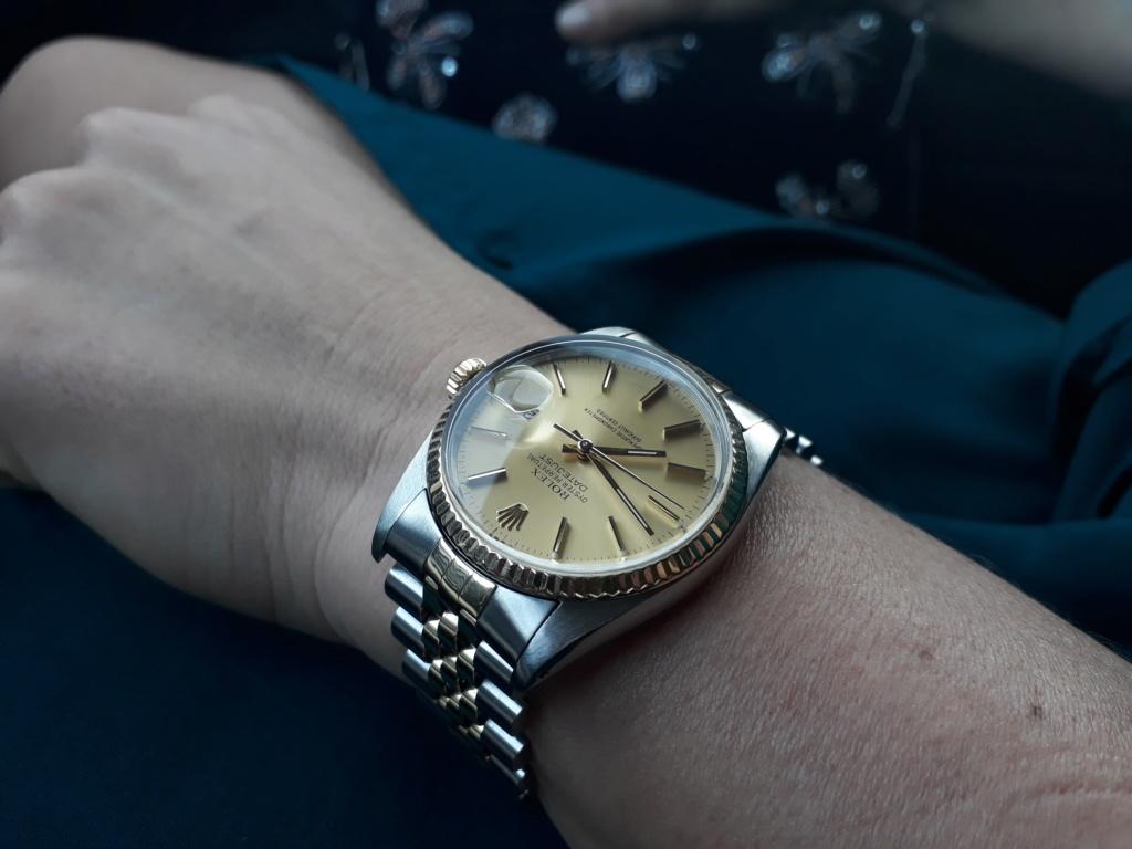Vends - [Baisse de prix][Vends] Rolex Datejust (ref 16013) 20180412