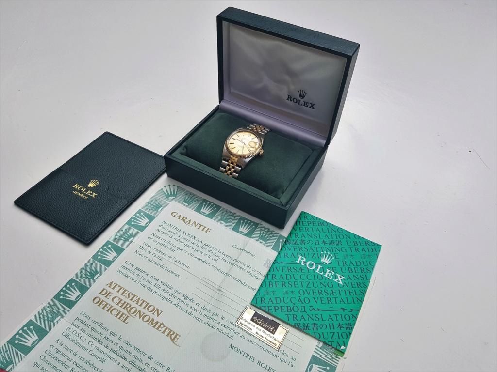 Vends - [Baisse de prix][Vends] Rolex Datejust (ref 16013) 20190516